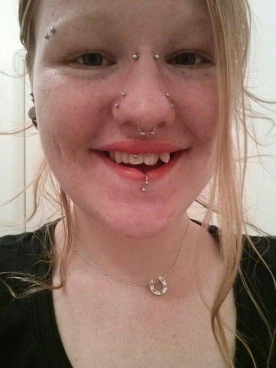 get a facial piercing