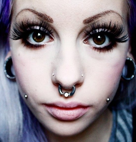 how to clean out a nose piercing
