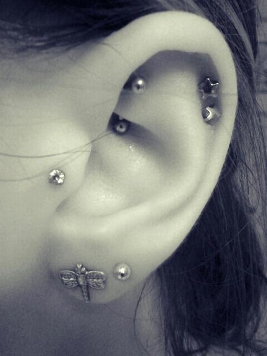 25 Cool Ideas For Tragus Piercings Piercingeasily Com