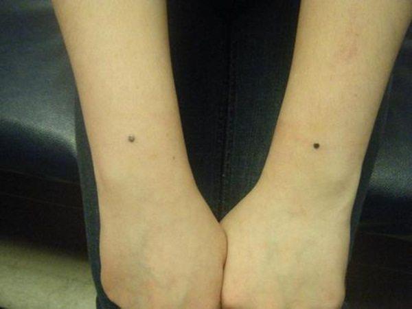 16-Wrist Piercing