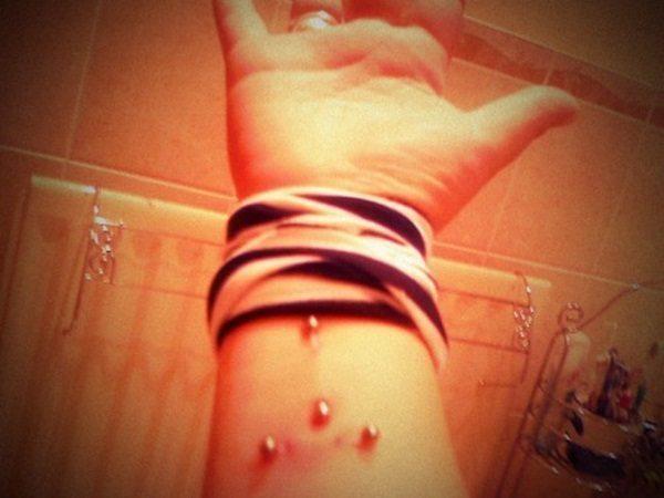 21-Wrist Piercing
