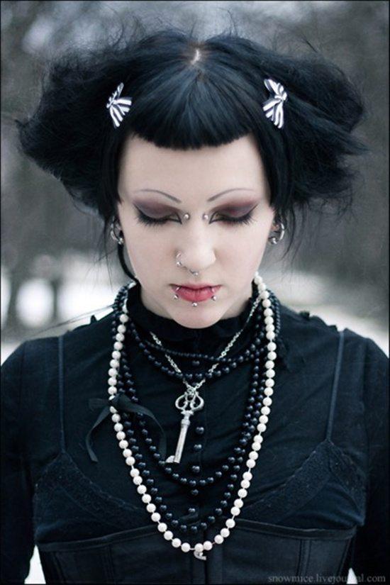 Stylish Gothic Piercings Piercingeasily Com