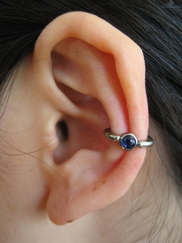 how to close ear piercing holes faster