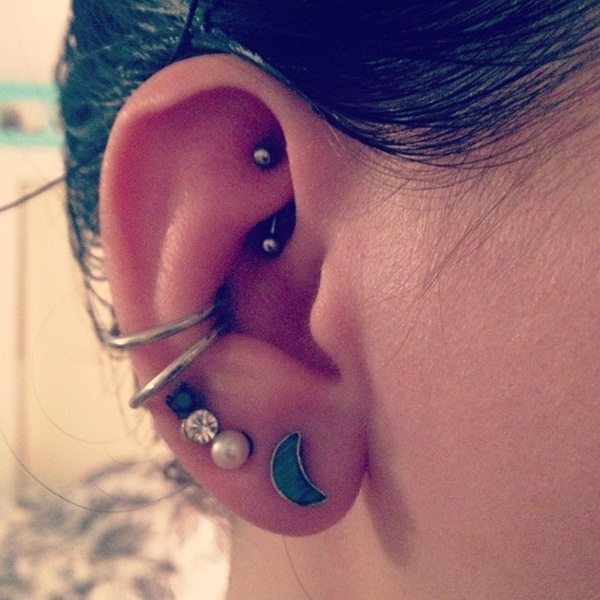 ear piercing fundas