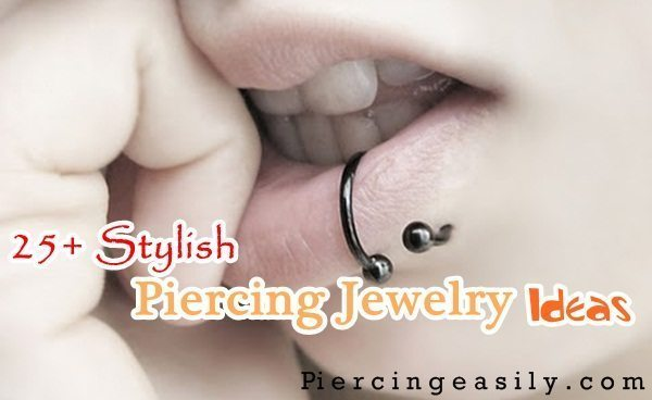 Stylish Piercing Jewelry Ideas