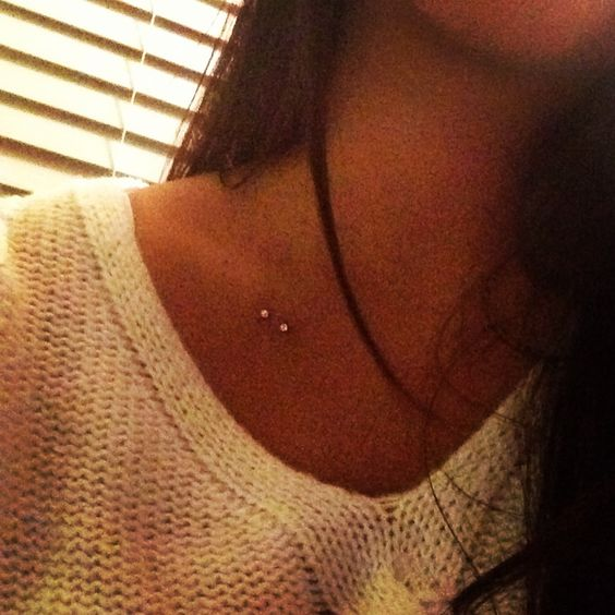 Collar Bone Piercing