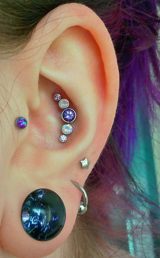 Conch Piercing Information Guide Inner And Outer Conch Piercing