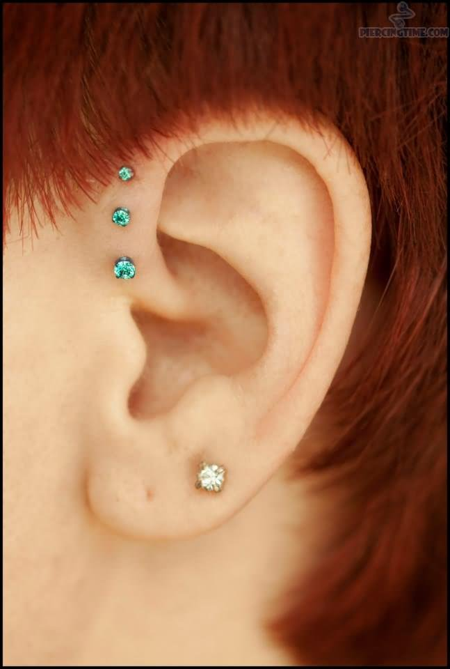Types of Ear Piercing Which can make you awesome Ear Piercings Triple Helix