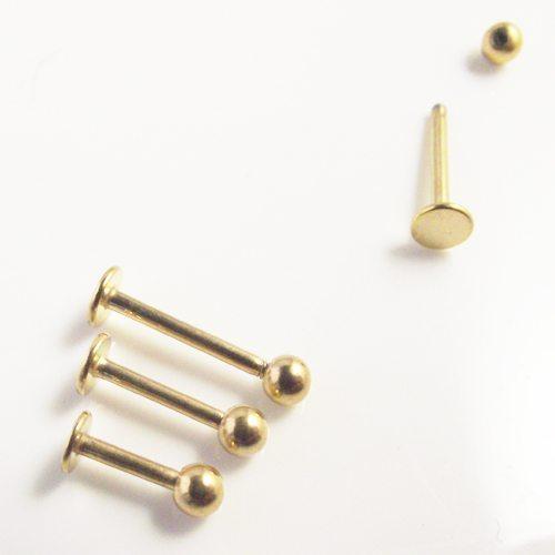 labret jewelry stud