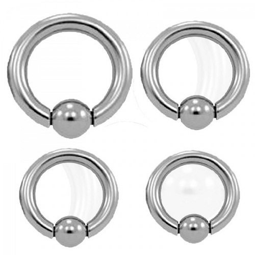 Surgical steel rings