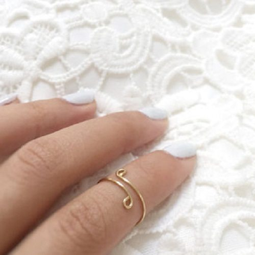 brass jewelry finger ring