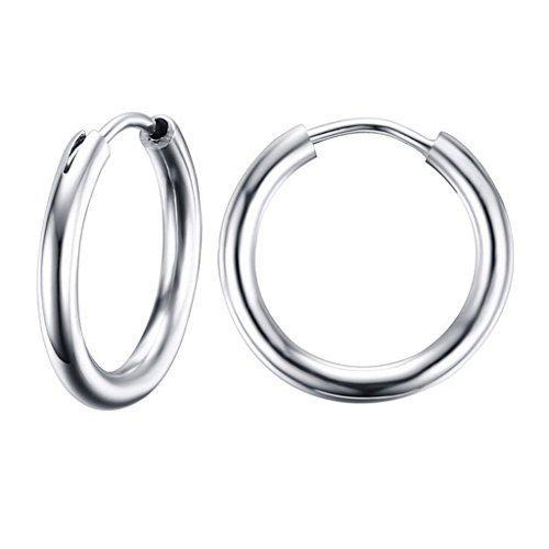 steel earings