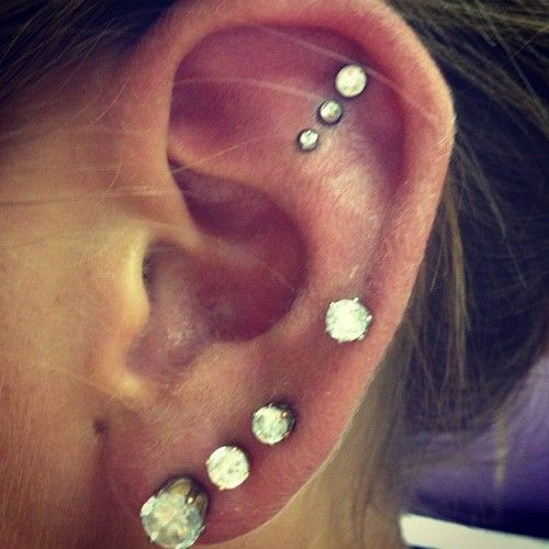 Triple Ear Piercing
