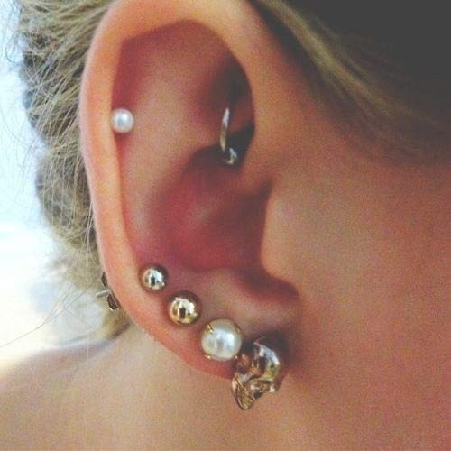 Ear piercing for weight loss