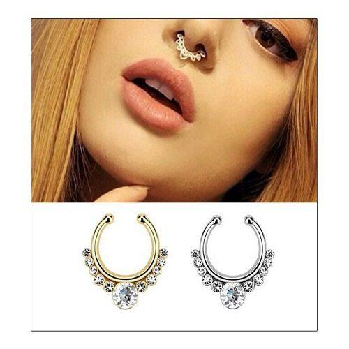 9 unique fake septum piercing jewelry worth considering