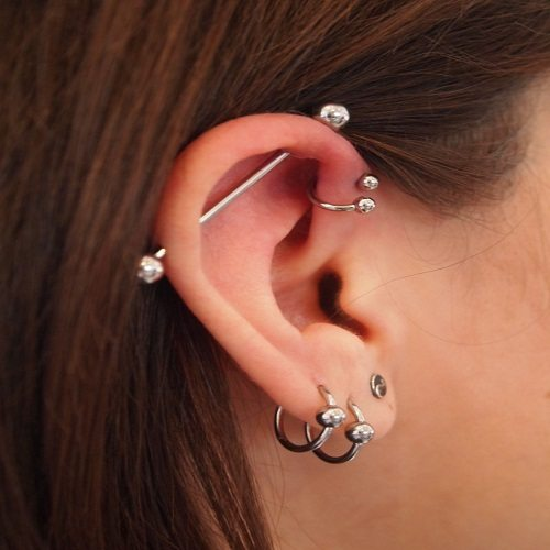 Explore The 8 Stunning Styles Of Helix Piercing Earrings Piercing